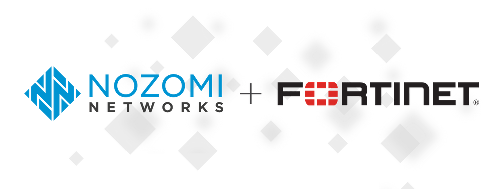 Nozomi Networks and Fortinet logos