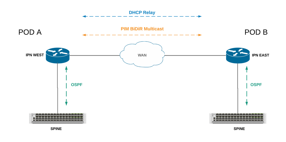 ACI Multi-Pod IPN Connectivity