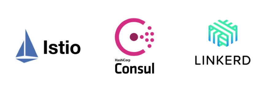 Service mesh frameworks - Istio, Hashicorp Consul, Linkerd
