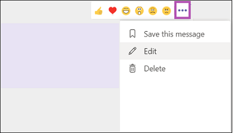 How to delete a chat message in Teams