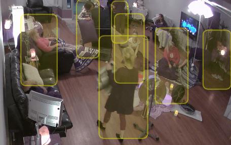 Meraki camera object detection