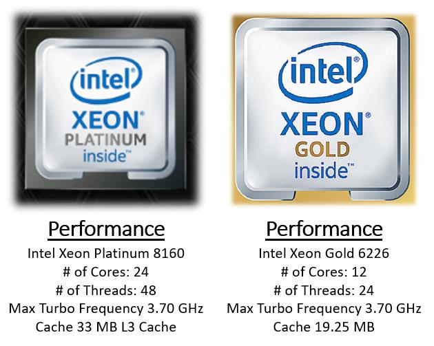 CPU Comparison On Intel Website