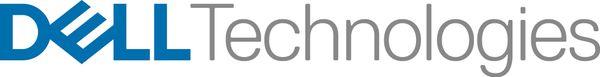 Logo for Dell Technologies Titanium Black Partner