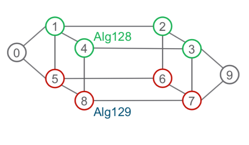 Dual plane network diagram