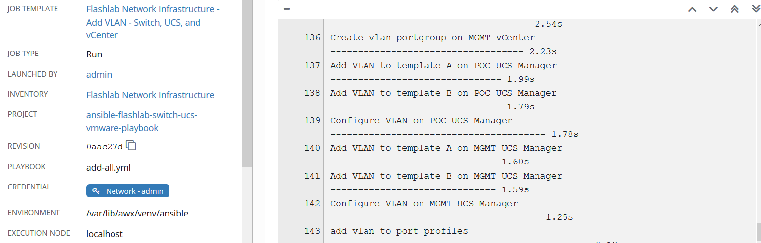 Add the VLAN to UCS Infrastructure