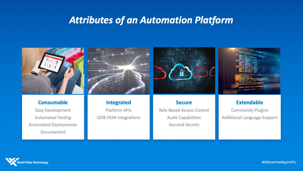 attributes of an automation platform