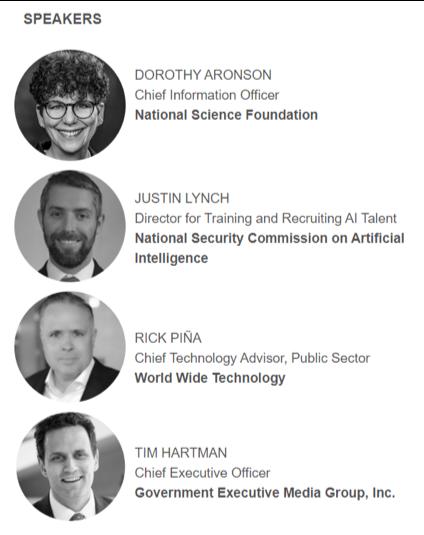 Webcast panel speakers