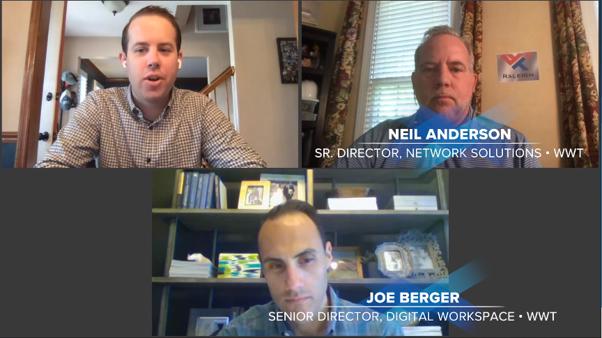 Business Continuity Talks speakers - Joe Berger and Neil Anderson