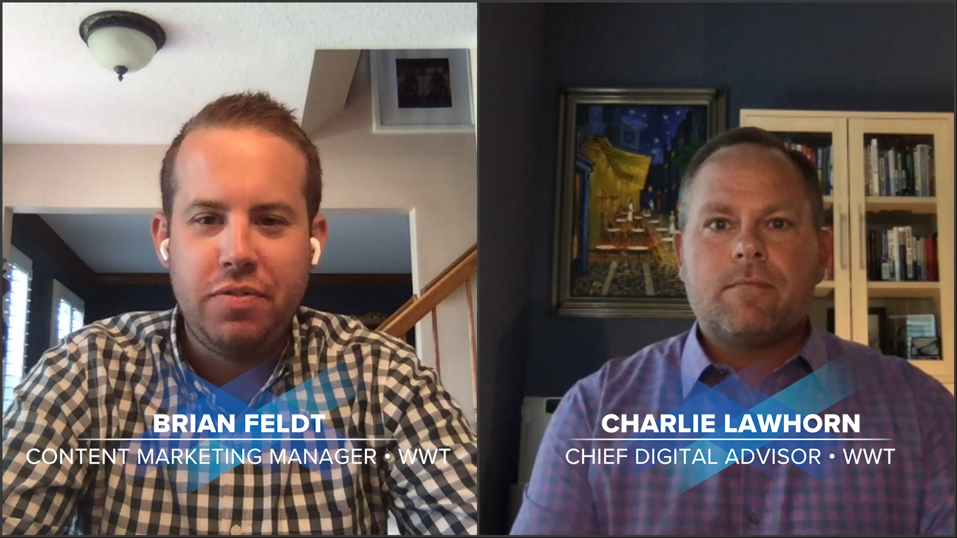 Business Continuity Talks speakers - Brian Feldt and Charlie Lawhorn