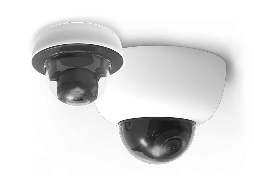 Cisco Meraki cloud-managed smart cameras.