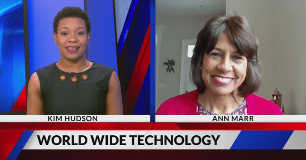 Ann Marr on the news