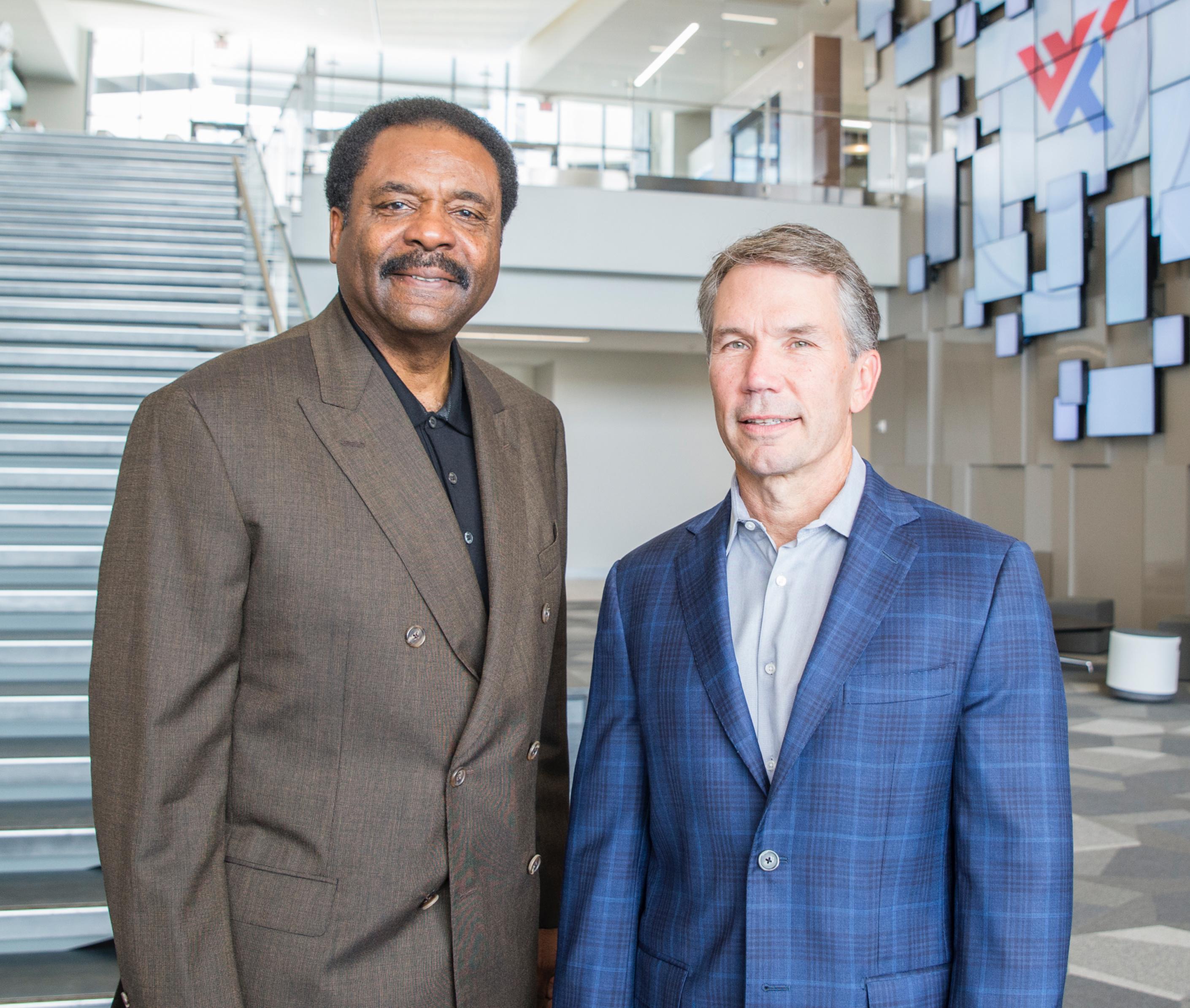 Dave Steward and Jim Kavanaugh