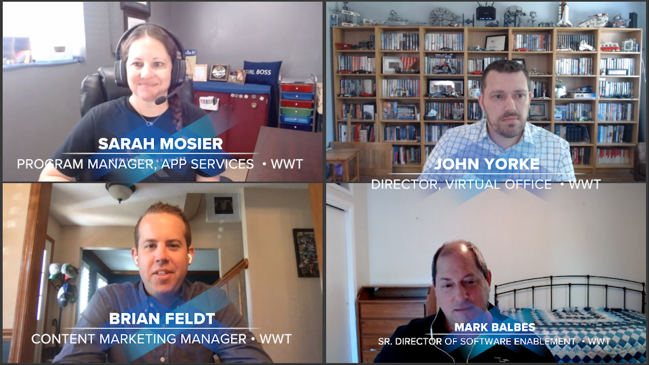 WWT experts discuss remote working