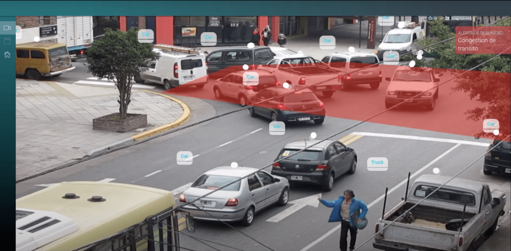 example monitoring of traffic patterns