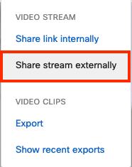 sharing camera access