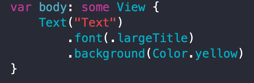 SwiftUI Text view