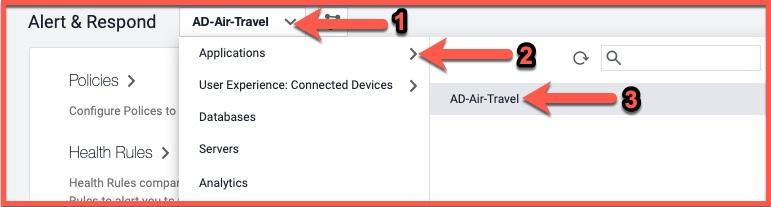 Select AD-Air-Travel app