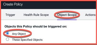 Any object option