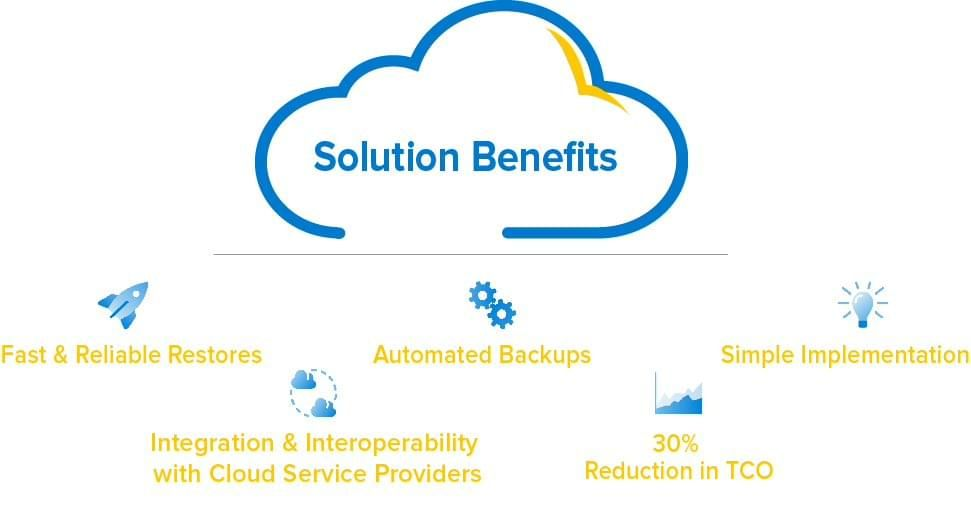 A few of the benefits of the Rubrik solution