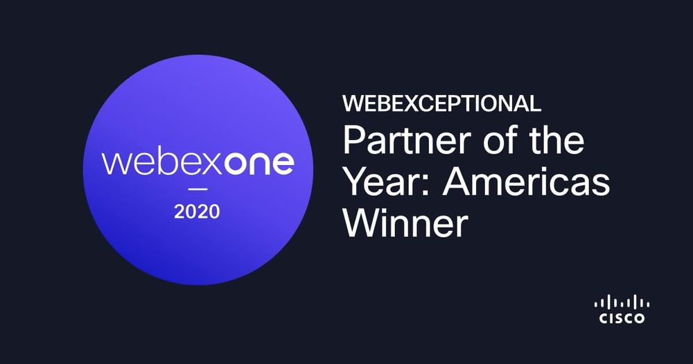 WWT is 2020 WebExceptional Partner of the Year: Americas