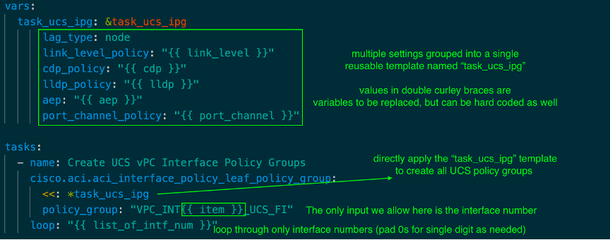 Ansible task with design pattern #1