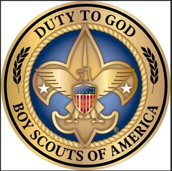Duty to God Boy Scouts emblem.