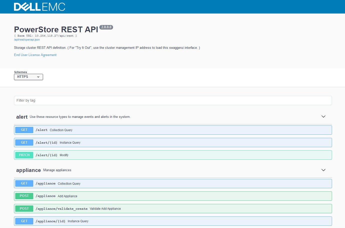PowerStore Rest API