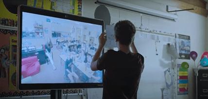 virtual classroom in Shawnee Mission School District, KS