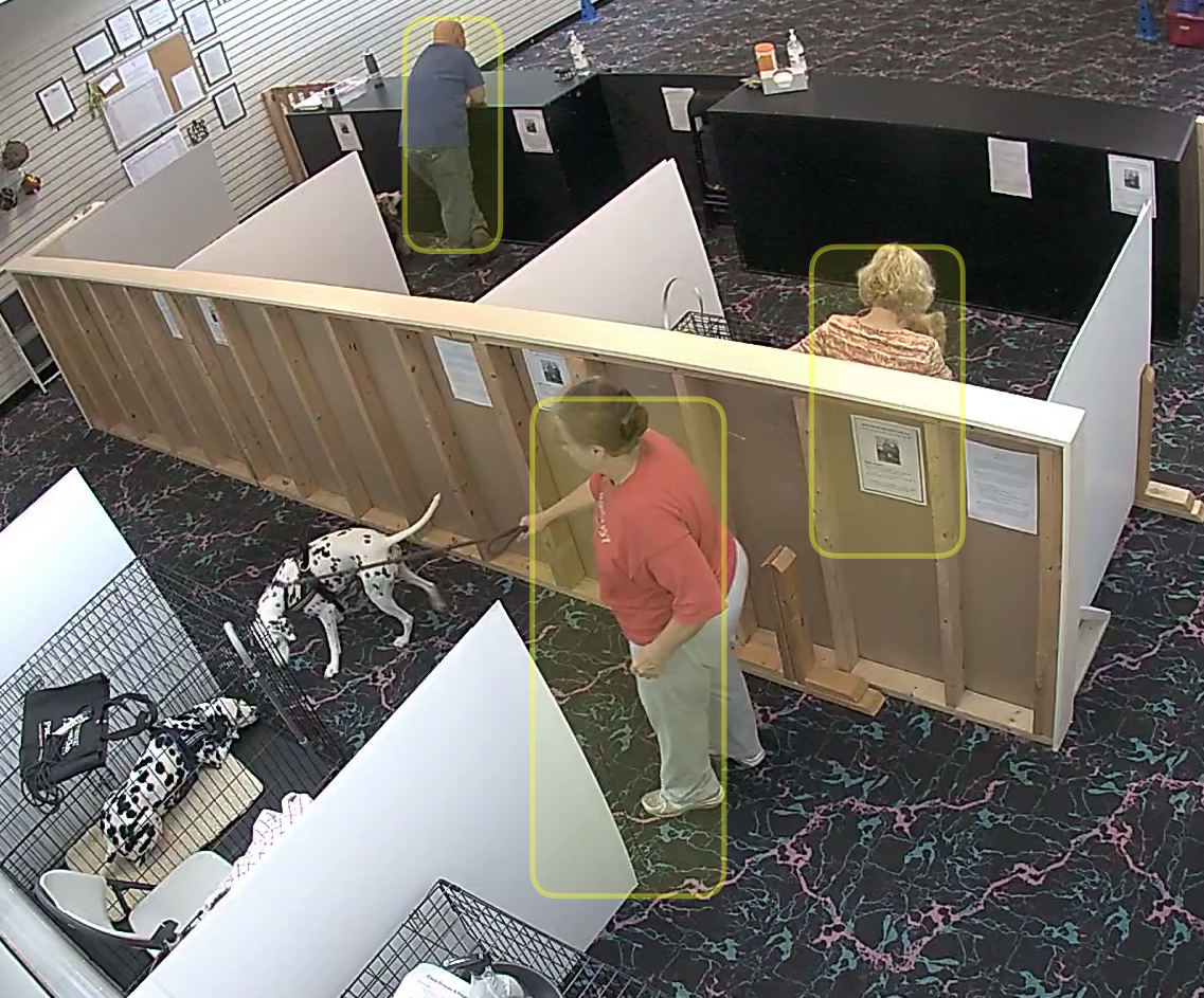 Smart Camera person recognition